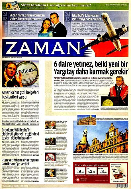 Türk basınında Wikileaks manşetleri galerisi resim 2