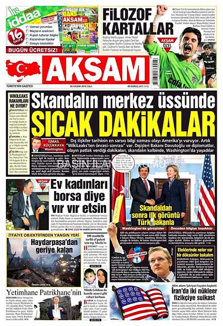 Türk basınında Wikileaks manşetleri galerisi resim 4