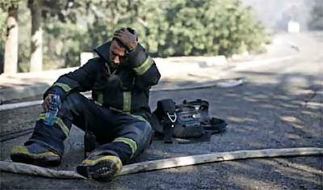 Yangın İsrail'i bu hale getirdi galerisi resim 1
