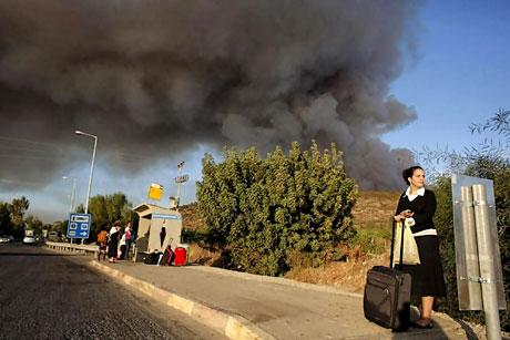 Yangın İsrail'i bu hale getirdi galerisi resim 10
