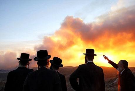Yangın İsrail'i bu hale getirdi galerisi resim 13