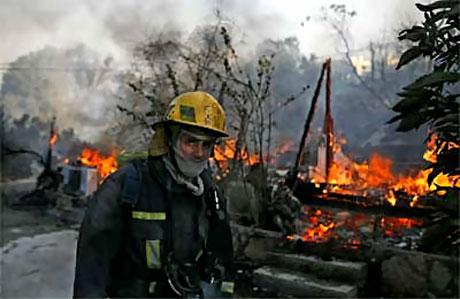 Yangın İsrail'i bu hale getirdi galerisi resim 2