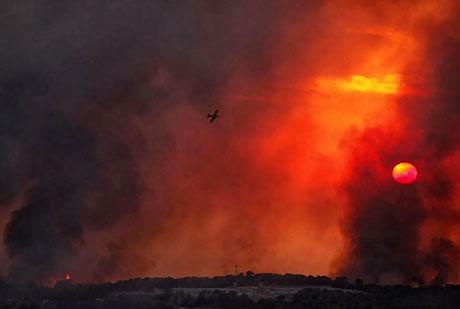 Yangın İsrail'i bu hale getirdi galerisi resim 6