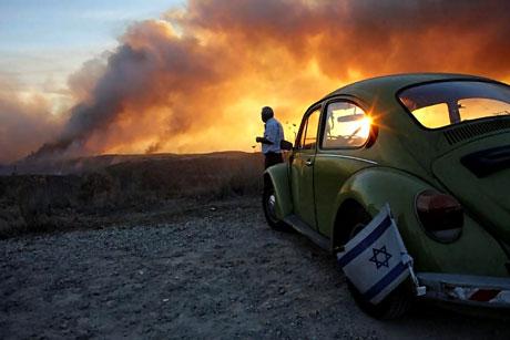 Yangın İsrail'i bu hale getirdi galerisi resim 9