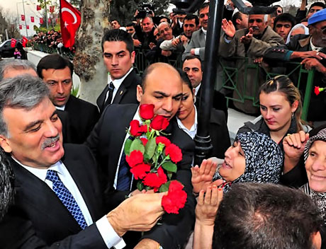 Cumhurbaşkanı Gül Diyarbakır'da galerisi resim 40