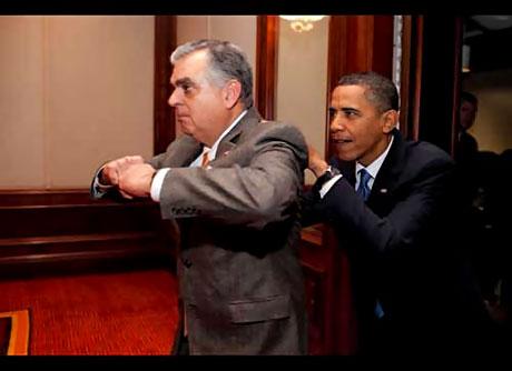 Obama'yı hiç böyle görmediniz galerisi resim 12