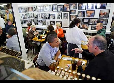 Obama'yı hiç böyle görmediniz galerisi resim 9