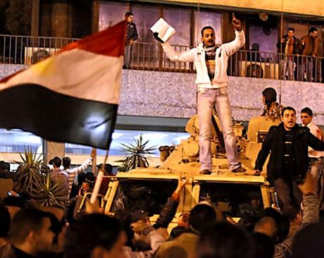 Mısır'da Mübarek iktidarı sallanıyor galerisi resim 1