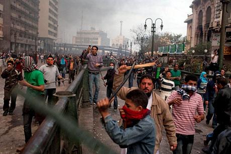 Mısır'da Mübarek iktidarı sallanıyor galerisi resim 10