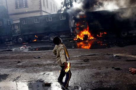 Mısır'da Mübarek iktidarı sallanıyor galerisi resim 12
