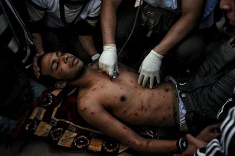 Mısır'da Mübarek iktidarı sallanıyor galerisi resim 15