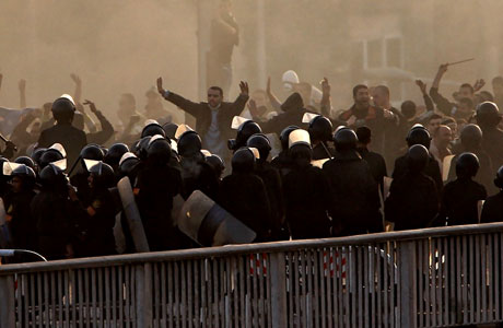 Mısır'da Mübarek iktidarı sallanıyor galerisi resim 17