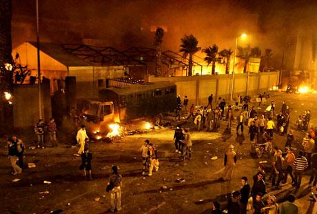 Mısır'da Mübarek iktidarı sallanıyor galerisi resim 19