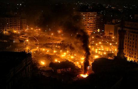 Mısır'da Mübarek iktidarı sallanıyor galerisi resim 20