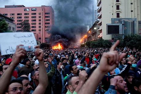 Mısır'da Mübarek iktidarı sallanıyor galerisi resim 4