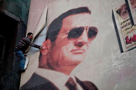 Mısır'da Mübarek iktidarı sallanıyor galerisi resim 9