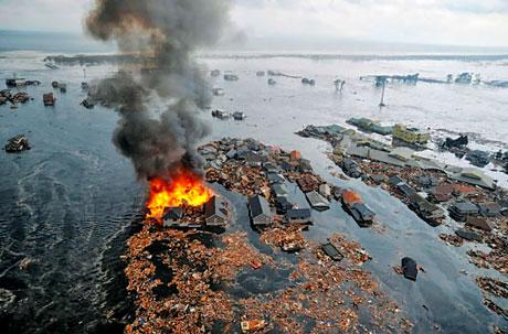 Japonya'da Deprem ve Tsunami galerisi resim 23
