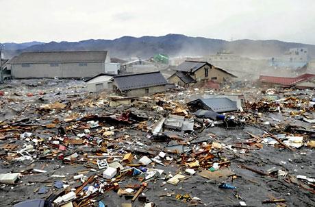 Japonya'da Deprem ve Tsunami galerisi resim 27