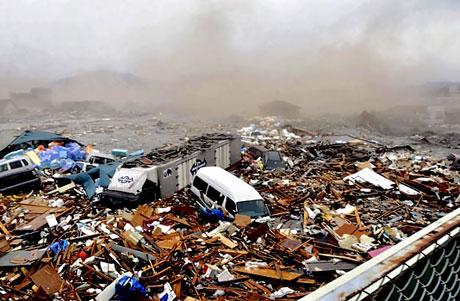 Japonya'da Deprem ve Tsunami galerisi resim 28