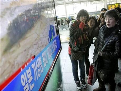 Japonya'da Deprem ve Tsunami galerisi resim 40