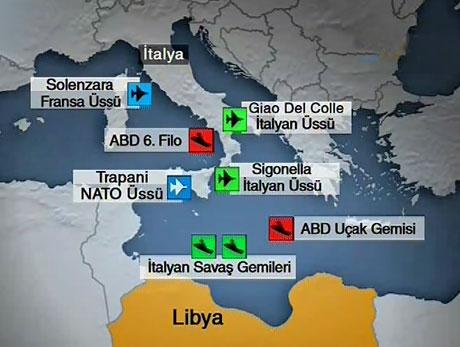 Libya'ya bomba yağıyor galerisi resim 22
