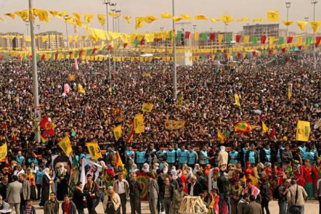 Tarihi 2011 Newroz'undan manzaralar galerisi resim 1