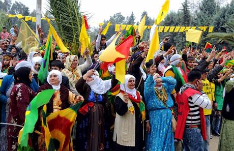 Tarihi 2011 Newroz'undan manzaralar galerisi resim 17