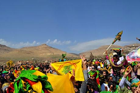 Tarihi 2011 Newroz'undan manzaralar galerisi resim 84