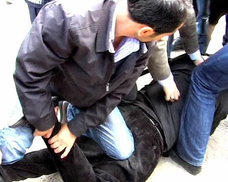 'Sivil itaatsizlik' eylemi ve Polis müdahalesi galerisi resim 12
