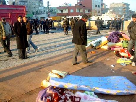 'Sivil itaatsizlik' eylemi ve Polis müdahalesi galerisi resim 20