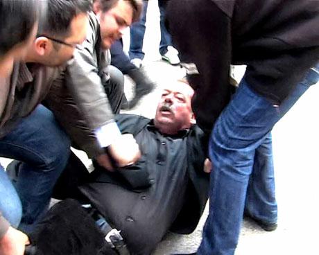 'Sivil itaatsizlik' eylemi ve Polis müdahalesi galerisi resim 5