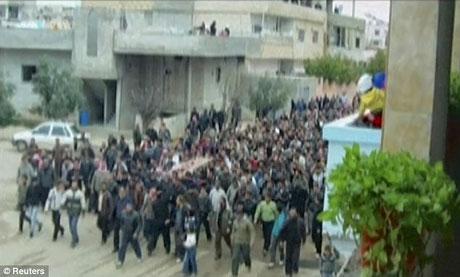 Suriye'de isyan ateşi alevlendi! galerisi resim 10
