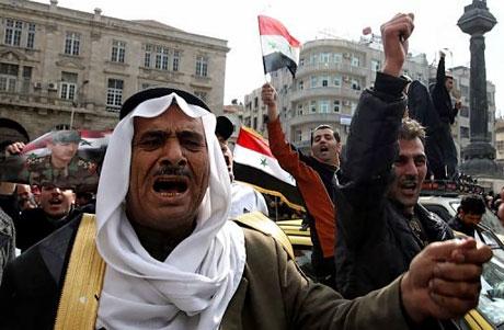 Suriye'de isyan ateşi alevlendi! galerisi resim 18