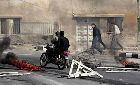 Suriye'de isyan ateşi alevlendi! galerisi resim 21