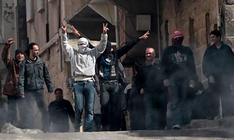 Suriye'de isyan ateşi alevlendi! galerisi resim 22