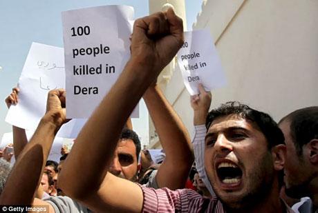 Suriye'de isyan ateşi alevlendi! galerisi resim 6