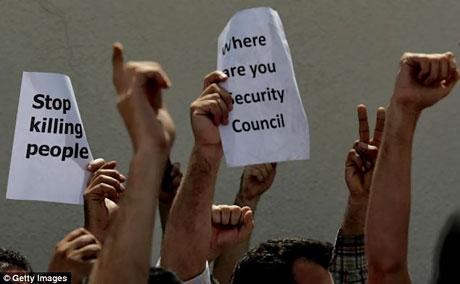 Suriye'de isyan ateşi alevlendi! galerisi resim 9