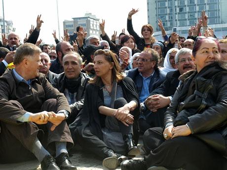 Sivil İtaatsizlik Taksim Meydanı'nda galerisi resim 19