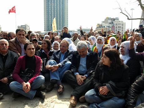 Sivil İtaatsizlik Taksim Meydanı'nda galerisi resim 7