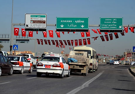 Erdoğan'a Hewler ve Irak'ta yoğun ilgi... galerisi resim 1