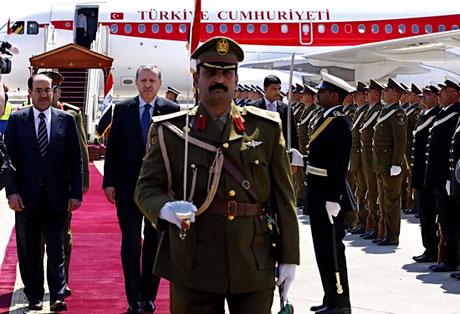 Erdoğan'a Hewler ve Irak'ta yoğun ilgi... galerisi resim 20