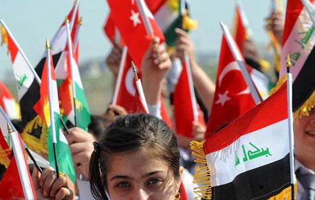 Erdoğan'a Hewler ve Irak'ta yoğun ilgi... galerisi resim 31
