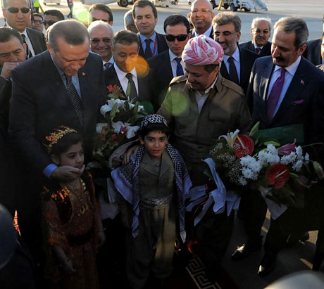 Erdoğan'a Hewler ve Irak'ta yoğun ilgi... galerisi resim 33