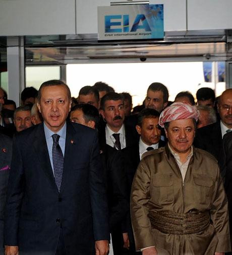 Erdoğan'a Hewler ve Irak'ta yoğun ilgi... galerisi resim 34