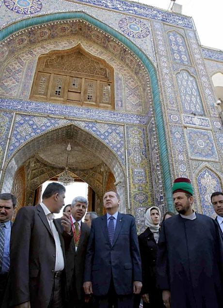 Erdoğan'a Hewler ve Irak'ta yoğun ilgi... galerisi resim 44