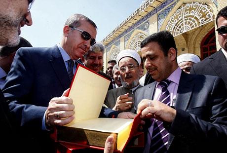 Erdoğan'a Hewler ve Irak'ta yoğun ilgi... galerisi resim 50