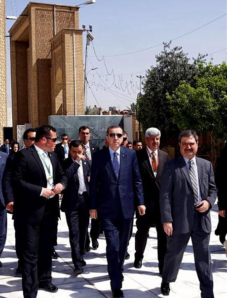 Erdoğan'a Hewler ve Irak'ta yoğun ilgi... galerisi resim 51