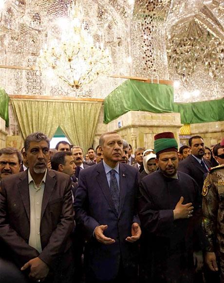 Erdoğan'a Hewler ve Irak'ta yoğun ilgi... galerisi resim 52