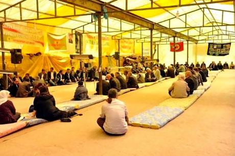 Diyarbakır 'sivil cuma' sonrası karıştı! galerisi resim 14