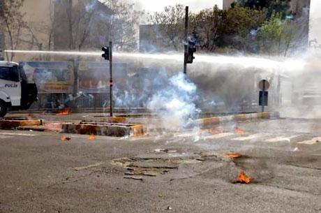 Diyarbakır 'sivil cuma' sonrası karıştı! galerisi resim 24